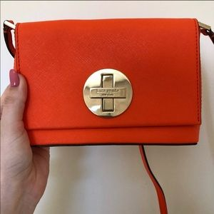 Kate spade mini rare orange color crossbody